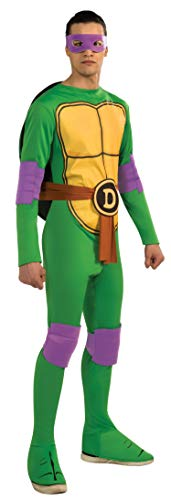 Nickelodeon TMNT Adult Donatello and Accessories, Green, Standard Costume]()