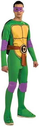 Rubie's Teenage Mutant Ninja Turtles Donatello Adult Costume Jumpsuit, Stan
