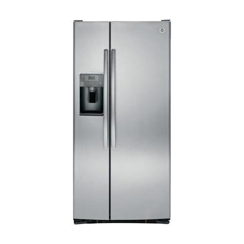 GE GSS23HSHSS 22.5 Cu. Ft. Stainless Steel Side-By-Side Refrigerator