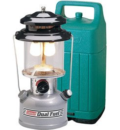Coleman Premium Dual Fuel Lantern w/Hard Carry Case