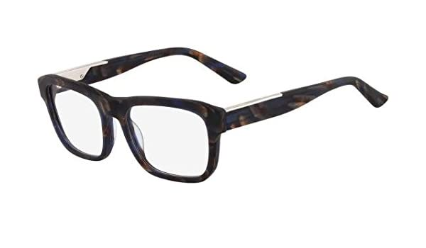 9d82a5e0ddb Calvin Klein Collection Eyeglasses CK7916 402 Blue Horn 53 19 140   Amazon.ca  Health   Personal Care