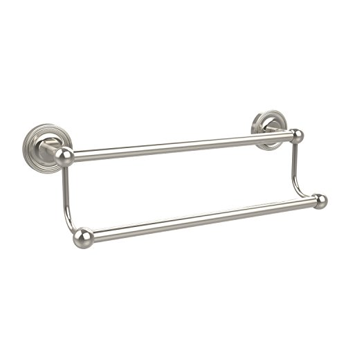 Allied Brass 30'' Double Towel Bar Polished Nickel by Allied Brass