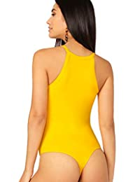 Body para dama con cintura media