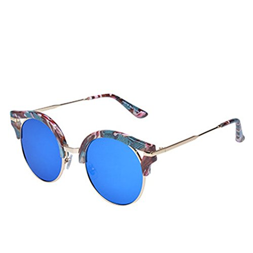 MosierBizne Ms New Round Frame Sunglasses Tide - Ms Outlets Jackson Stores