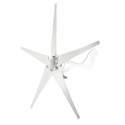 YaeMarine Wind Turbine Generator, Windmill Generator, 400W 24V Wind Turbine Businesses 5 Blade Wind Controller Turbine Generator kit for Home/Camping
