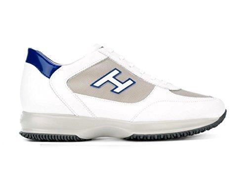 Hogan Botas de Senderismo Para Hombre Blanco Bianco + Blu