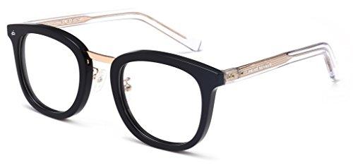 "PRIVÉ REVAUX ""The Alchemist"" [Limited Edition] Handcrafted Designer Eyeglasses For Men & Women (Black)"