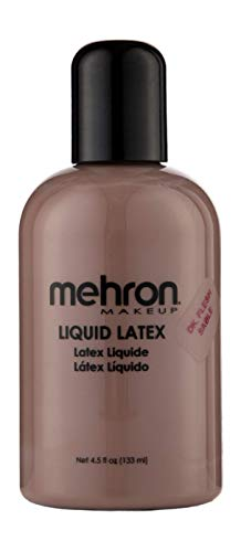 Mehron Makeup Liquid Latex (4.5 oz) (Dark -