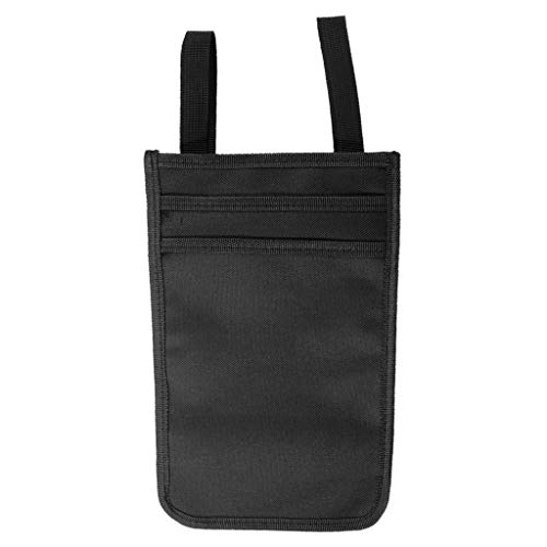 tajiarous-Walking Stick Hanging Bag Pouch Tote Broken Leg Medical Forearm Crutches Use Phone Bottle Storage Pockets Ergonomic Crutch Accessory ()