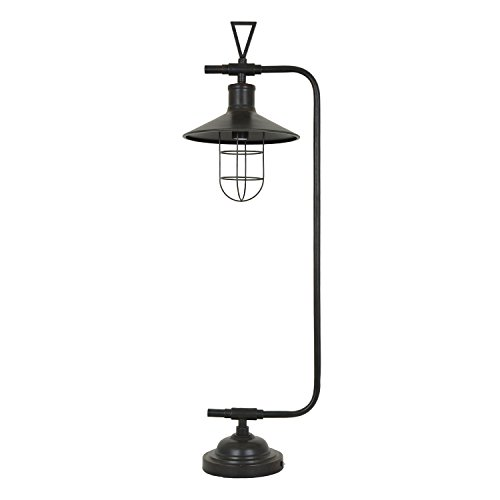 Crestview Collection Melbourne Antique Bronze 40.5-inch Pendant Table Lamp