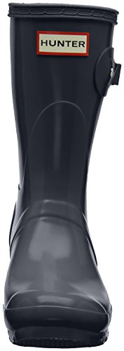 Hunter Low Wellington Boots, Stivali di Gomma Donna Grigio (Grey/Dsl)
