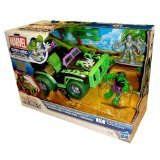 (Playskool Heroes Mud-Stormin' 4x4 with Hulk and Silver Surfer Vehicle Set)