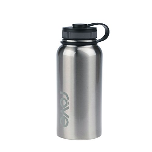 40oz Stainless Steel Single Wall Water Bottle - Commando (Silver)
