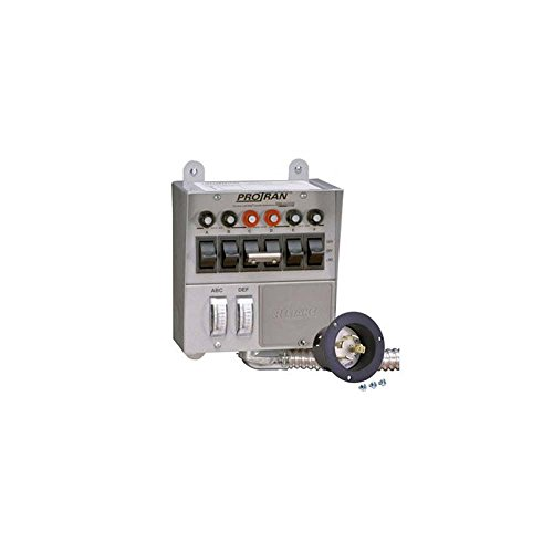 Reliance Controls 30216A 6 Circuit Power Transfer Switch