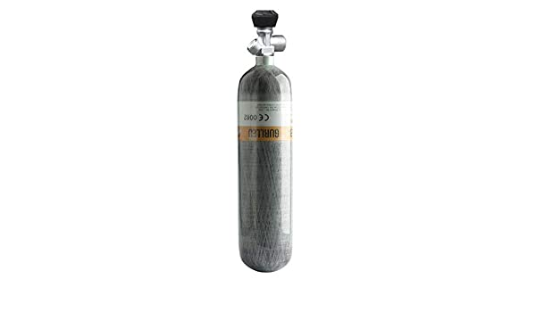 Gurlleu Carbon Fiber HPA Paintball Tank Compressed Air System(Empty Bottle)