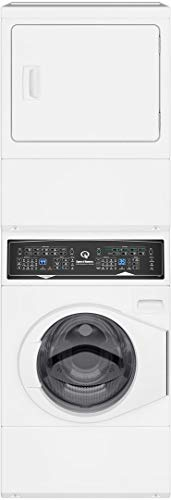 (Speed Queen SF7000WE 27 Inch Electric Laundry Center with 3.42 cu. ft. Washer Capacity, in White)