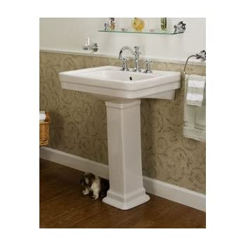 Barclay Washington Pedestal Sink Amazon Com