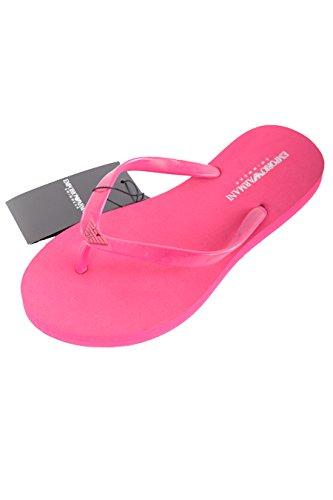 Emporio Armani-zapatero 262525 5P336-mujer, color rosa