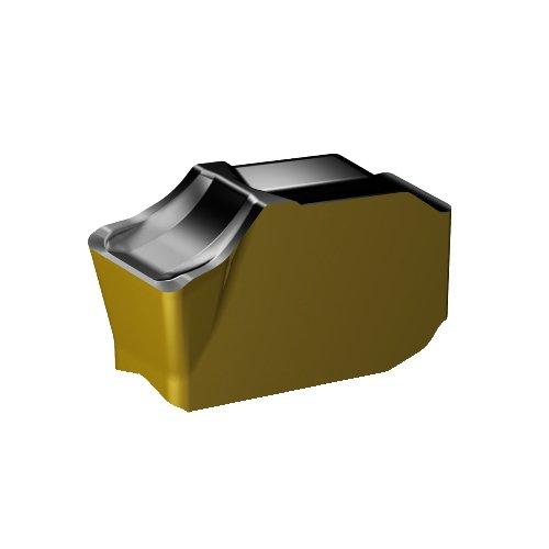 Ti Inveio Coating Technology Pack of 10 +Al2O3+TiN Carbide 3330 Grade Sandvik Coromant QD-NF-0250-035M-KM 3330 Coro Mill QD Insert for Grooving C,N Neutral Cut