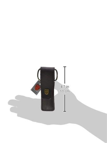 Drei Schwerter | Exklusives 3-teiliges Maniküre - Pediküre - Nagelpflege-Set / Etui | Qualität - Made in Solingen | ECHT LEDER (500205)