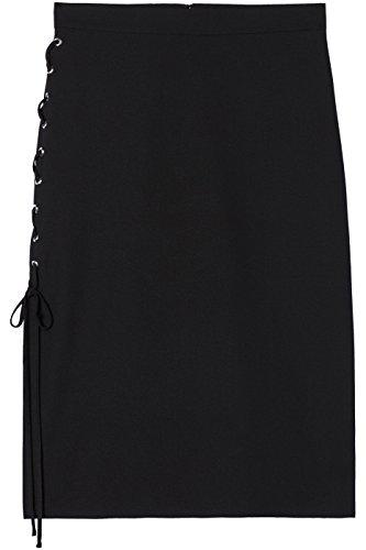 Jupe FIND Femme Noir Mtalliques Black illets UxHqxwpdFz