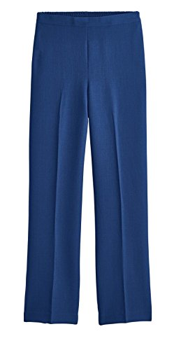 Alfred Dunner Women's Arizona Sky Proportioned Pants (Regular & Petite) (Lapis, 16P Short) (Alfred Blazer Dunner)