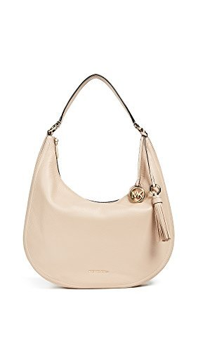 MICHAEL Michael Kors Women's Lydia Large Hobo, Oyster, One Size