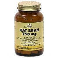 33984000000 Supplement Oat Bran 750mg Tablets Vegetarian 250 Per Bottle by Solgar Vitamin & Herb Co -Part no. 33984000000 (250 Tabs Vegetarian)