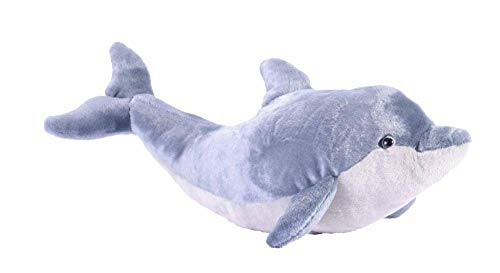 Wild Republic Dolphin Plush, Stuffed Animal, Plush Toy, Gifts for Kids, Cuddlekins 20 inches