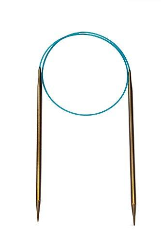 HiyaHiya 81,28 cm/80 cm x 6 mm de agujas circulares fijas en acero inoxidable