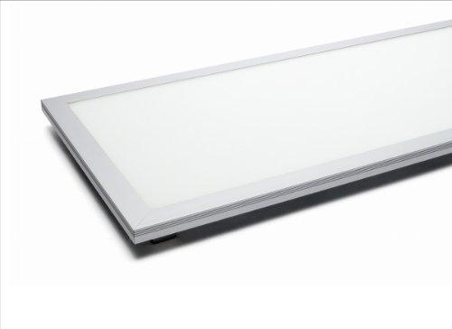 230V LED Panel 30x60 - 19W - dimmbar - neutralweiß - inkl. Deckenanbauset [Energieklasse A] WFL