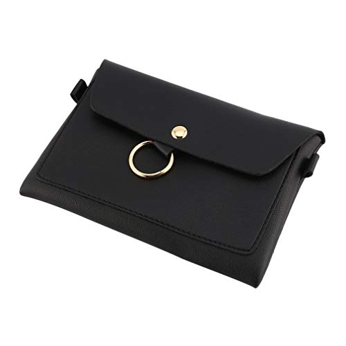 Convenient Qirui Bag Messenger Simple Black Easy Design Bag Small Matching Phone Mobile 0z0rwdqI