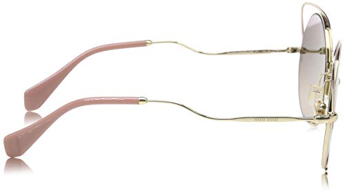 C5r4p0 Miu 0mu51ts Dorado Gafas 54 De brown pale Grey Pink Gold Sol Mujer antq Silver wwaErqU
