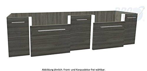 PELIPAL SOLITAIRE 7030 Waschtischunterschrank / WTUSL 06 / Comfort E / 186x48,2x49,3cm / A++