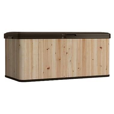 Suncast WRDB12000 Wood and Resin Deck Box
