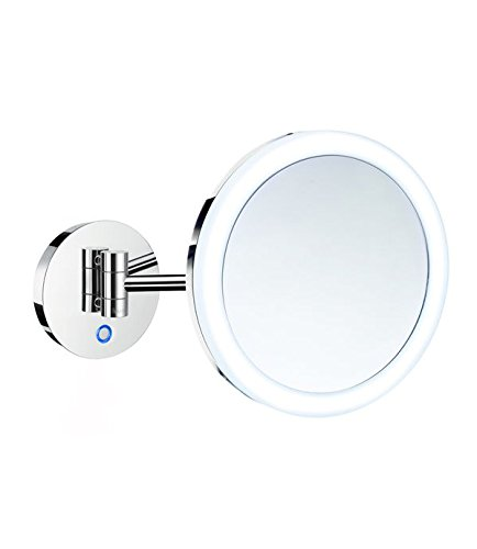 FK485EP battery operated LED duel lighted make-up mirror - wall -
