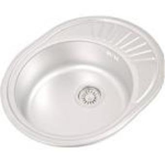1 Oval Chamber Sink With Dropper Top Side Cymbal Rechteckig