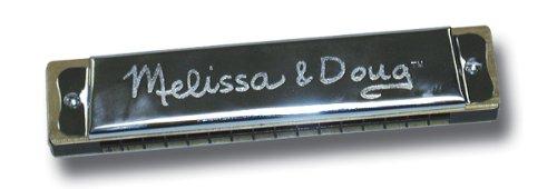 Melissa & Doug Beginner Extra-Large Metal Harmonica