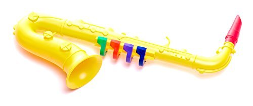 Antonelli Yellow Toy Saxophone for Kids by Bontempi