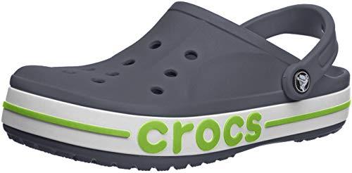 Crocs Men's and Women's Bayaband Clog | Comfortable Slip On Water Shoes
