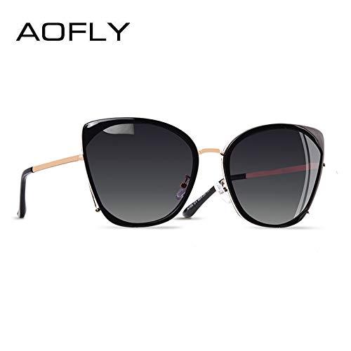HNPYY Gafas De Sol Aofly Marca Diseño Moda Para Mujer Ojo De ...