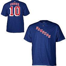 Marian Gaborik New York Rangers Blue Name and Number T-shirt