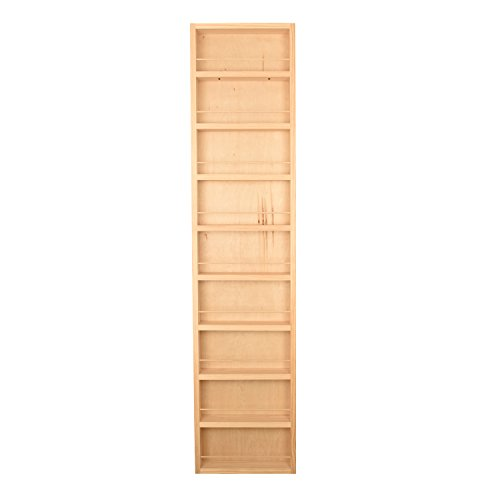 (Wood Cabinets Direct Fulton Spice Rack, Unfinished)