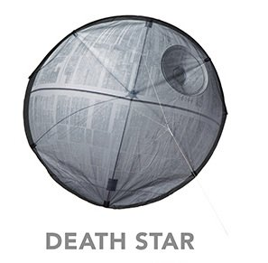 Death Star Supersized Nylon Kite - Kite Star