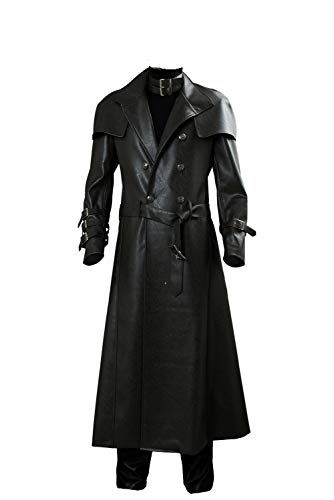 Adult Tyrant Cosplay Costume Halloween Resident Secret Service Evil Remake Full Set Outfits,XXXLarge Black]()
