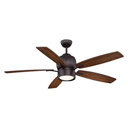 Girard 52 inch Indoor Ceiling Fan in Bronze