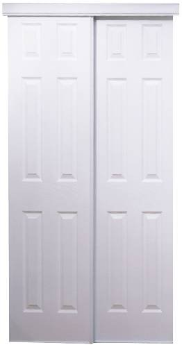 HOME DECOR INNOVATIONS 24 0011 60 X 80u0026quot; White 106 Series 6 Panel