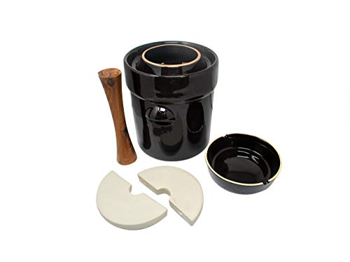 pickling crock set - 8