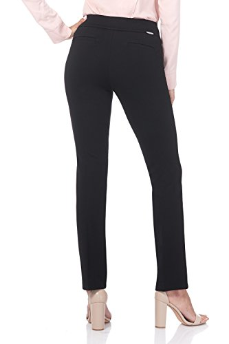 6b5fbfc10 Rekucci Women's Secret Figure Pull-On Knit Straight Pant w/Tummy Control at  Amazon Women's Clothing store