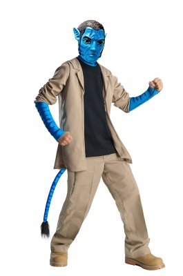 Deluxe Child Jake Sully Child Costume - (Sully Costume For Girls)
